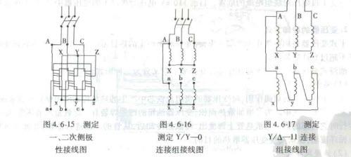 三相变压器连接组别的判断方法